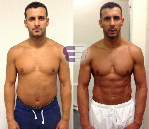 Nasser – 20% body fat to 8% in 12 weeks - Embody Fitness - London's leading Personal Training Studio