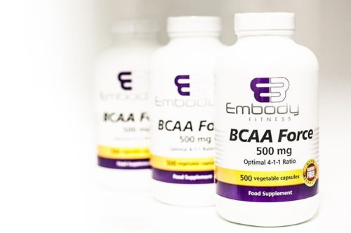 BCAA Force – 500 caps 4:1:1 Ratio
