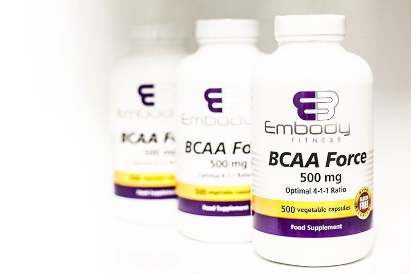 BCAA Force – 500 caps 4:1:1 Ratio
