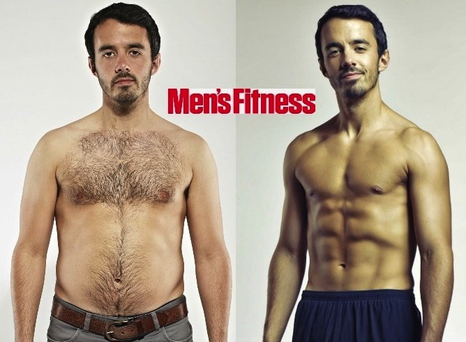 Ben Ince Of Men S Fitness 18 5 Body Fat To 7 1 In 8