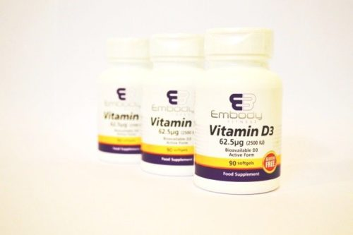 Personal Training Trainer London | Vitamin D3 - 90 softgels December 7th, 2020