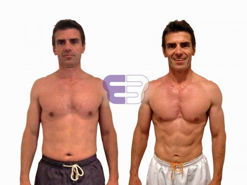 Mark's 8 week rapid fat loss results - Embody Fitness - London's leading Personal Training Studio