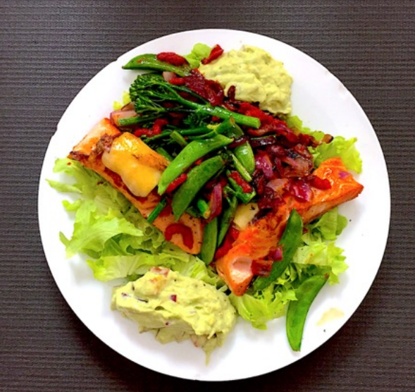 PAN FRIED SALMON RECIPE EMBODY FITNESS LONDON NUTRITION PERSONAL TRAINER+1
