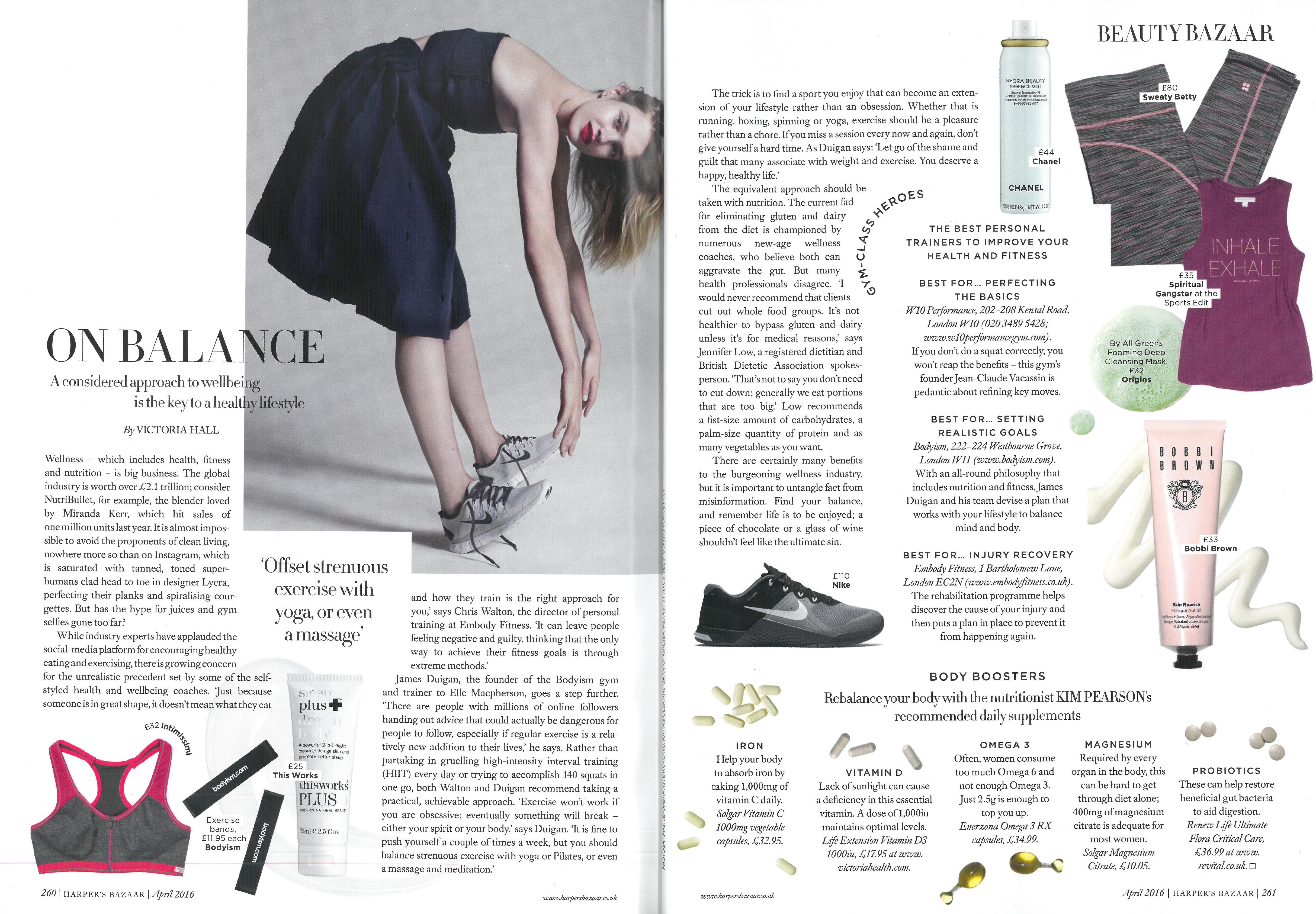 Harper's Bazaar - April issue (1)