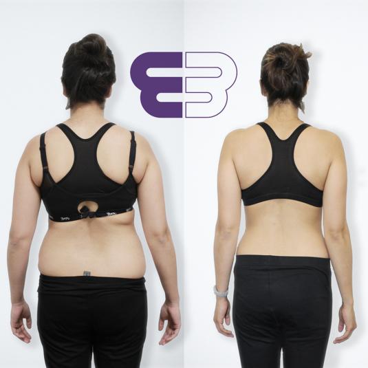 female fat loss transformation london