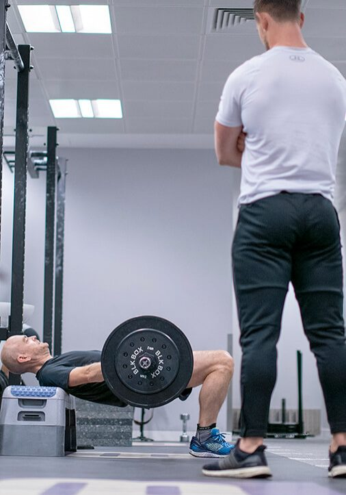 training facility with fitness goals personal training london
